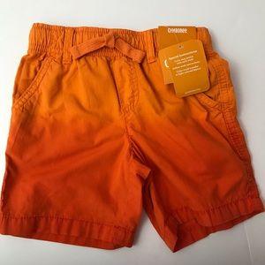 Gymboree Boys Shorts orange size 18-24 months new